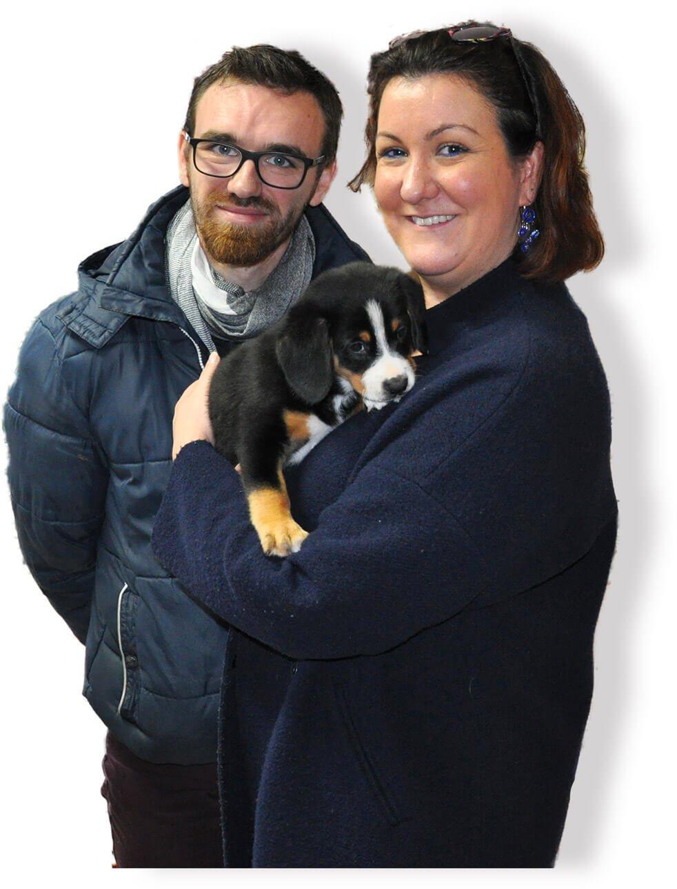 Adoption (achat) d'un jeune bébé Bouvier Bernois